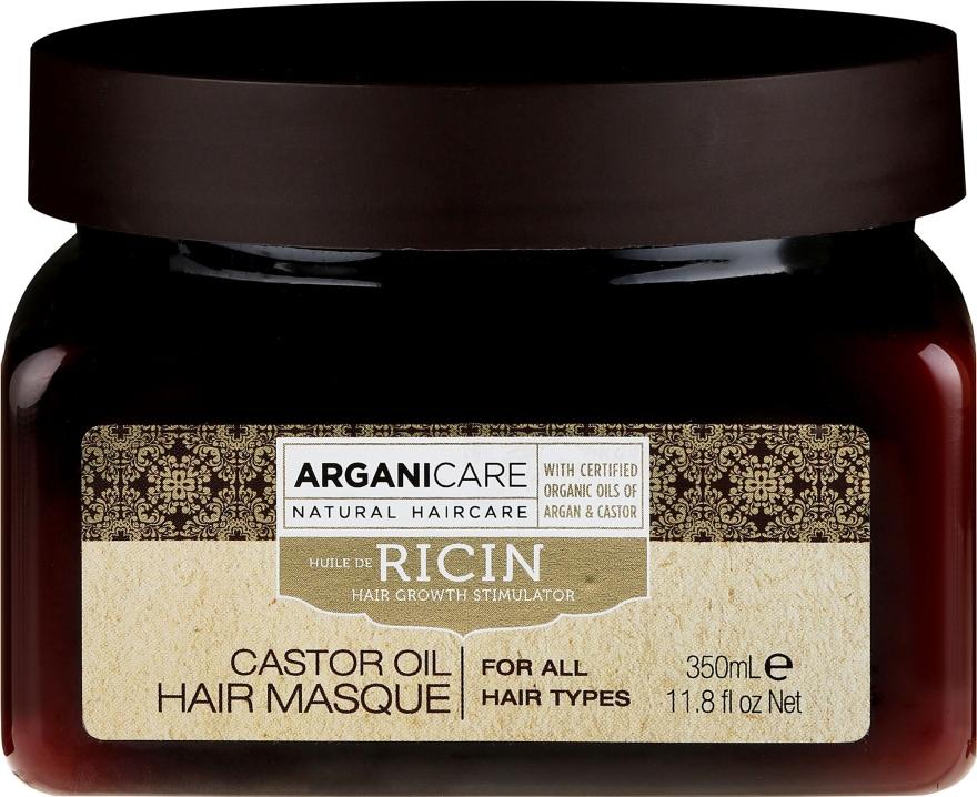 Маска для роста волос - Arganicare Castor Oil Hair Masque