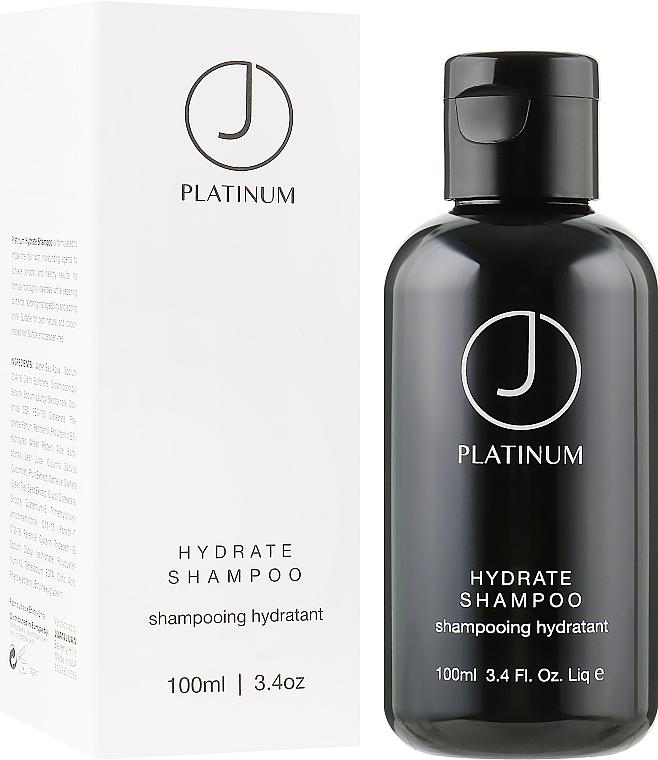 Увлажняющий шампунь для волос - J Beverly Hills Platinum Hydrate Shampoo