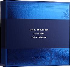 Духи, Парфюмерия, косметика Angel Schlesser Eau Fraiche Citrus Marino - Набор (edt/100ml+sh/gel/150ml)