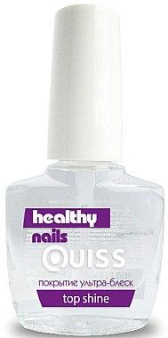 Покрытие ультра-блеск - Quiss Healthy Nails №6 Top Shine