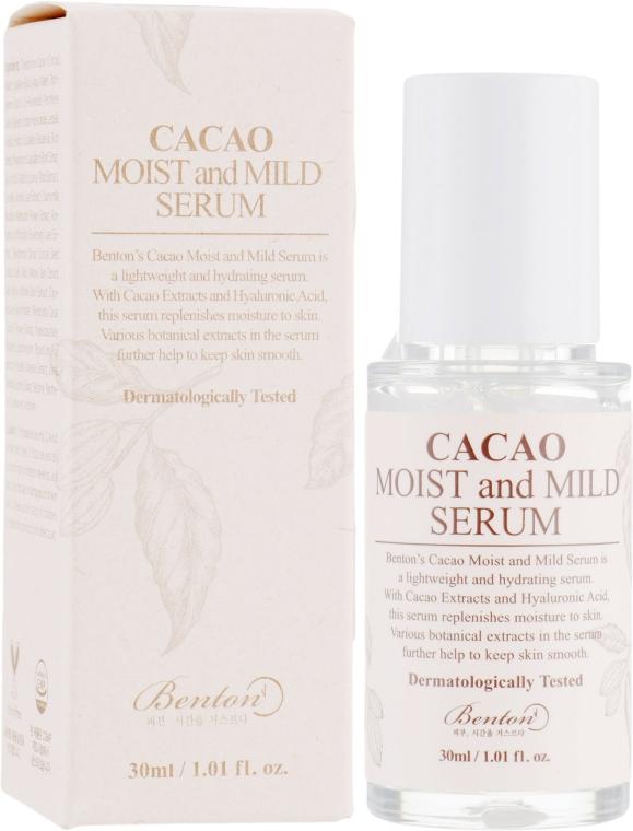 Сыворотка с маслом какао - Benton Cacao Moist and Mild Serum