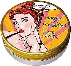 Духи, Парфюмерия, косметика Маска для волос с косметическим керосином - New Anna Cosmetics Retro Hair Mask