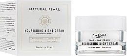 Духи, Парфюмерия, косметика Питательный ночной крем - Satara Natural Pearl Nourishing Night Cream