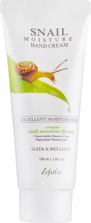 Крем для рук - Esfolio Snail Moisture Hand Cream