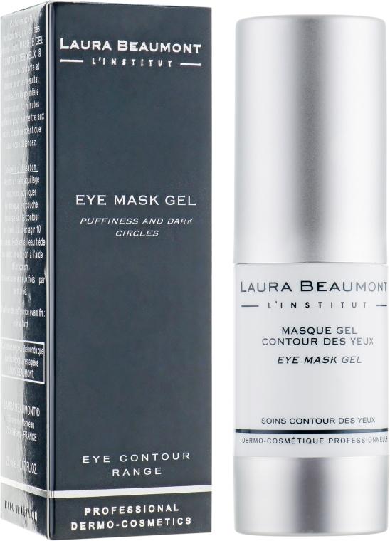 Маска-гель навколо очей «Миттєвий результат» - Laura Beaumont Eye Mask Gel — фото N1