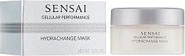 Духи, Парфюмерия, косметика Увлажняющая крем-маска с антивозрастным эффектом - Kanebo Sensai Cellular Performance Hydrachange Mask (мини)
