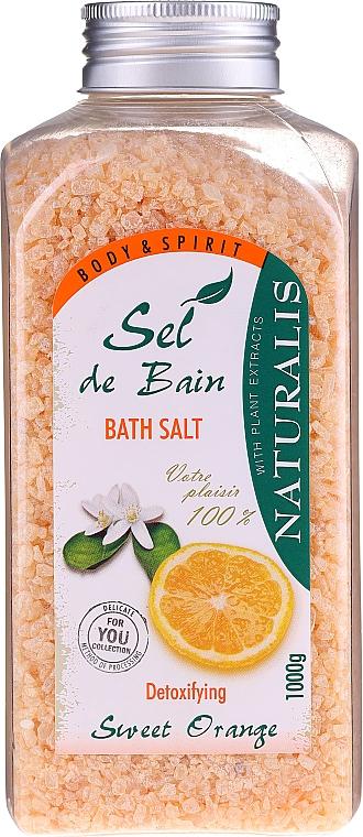 Соль для ванны - Naturalis Sel de Bain Sweet Orange Bath Salt