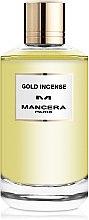 Духи, Парфюмерия, косметика Mancera Gold Incense - Парфюмированная вода