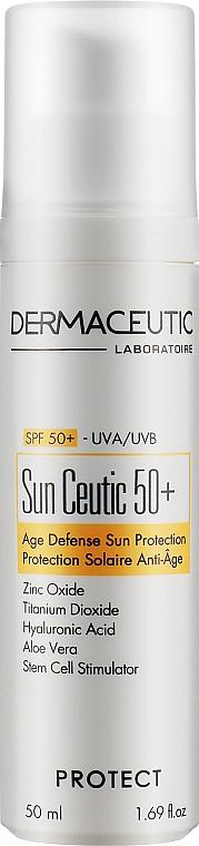 Солнцезащитный крем SPF50 - Dermaceutic Laboratoire Sun Ceutic 50 Anti-Aging Sun Protection