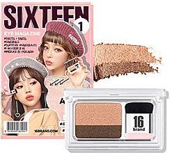 Духи, Парфюмерия, косметика Тени-амбре - 16Brand Sixteen Eye Magazine