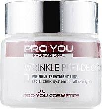 Крем с пептидами против морщин - Pro You Professional Wrinkle Peptide Cream — фото N2