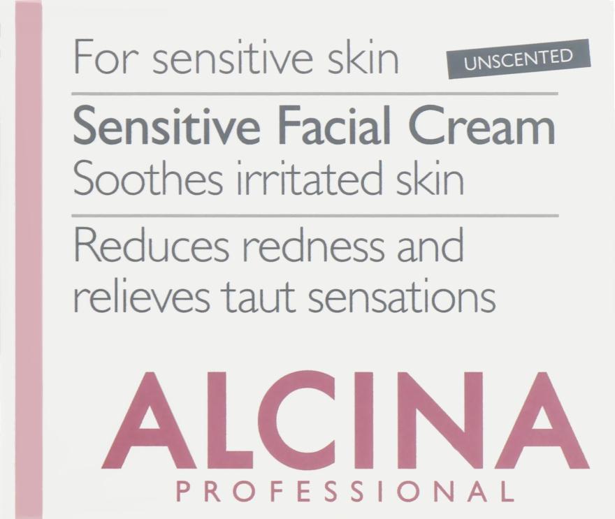 Крем для чувствительной кожи лица - Alcina S Sensitive Facial Cream