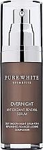 Духи, Парфюмерия, косметика Ночная сыворотка для лица - Pure White Cosmetics Overnight Antioxidant Renewal Serum