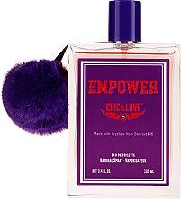 Духи, Парфюмерия, косметика Chic&Love Empower - Туалетная вода (тестер с крышечкой)