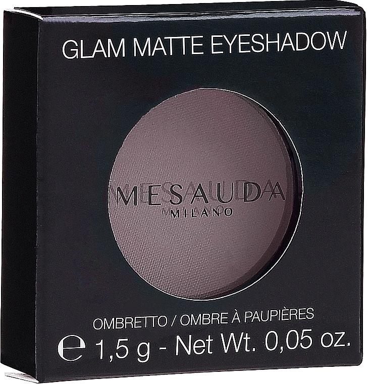 Матовые тени для век - Mesauda Milano Glam Matte Eye Shadow