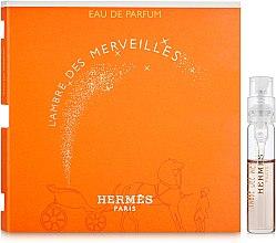 Духи, Парфюмерия, косметика Hermes L'Ambre des Merveilles - Парфюмированная вода (пробник)