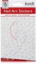 Духи, Парфюмерия, косметика Наклейки для дизайна ногтей - Kodi Professional Nail Art Stickers SP027