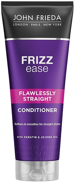 Кондиционер выпрямляющий для волнистых, вьющихся и непослушных волос - John Frieda Frizz-Ease Flawlessly Straight Conditioner