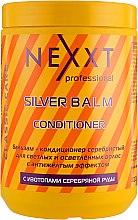 Духи, Парфюмерия, косметика Бальзам-кондиционер серебристый для светлых и седых волос - Nexxt Professional Silver Balm Conditioner