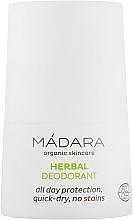 Духи, Парфюмерия, косметика Растительно-минеральный дезодорант - Madara Cosmetics Herbal Deodorant