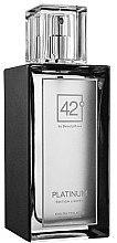Духи, Парфюмерия, косметика 42° by Beauty More Platinum Edition Limitee - Туалетная вода