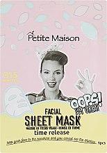 Духи, Парфюмерия, косметика Омолаживающая маска-патч для лица - Petite Maison
