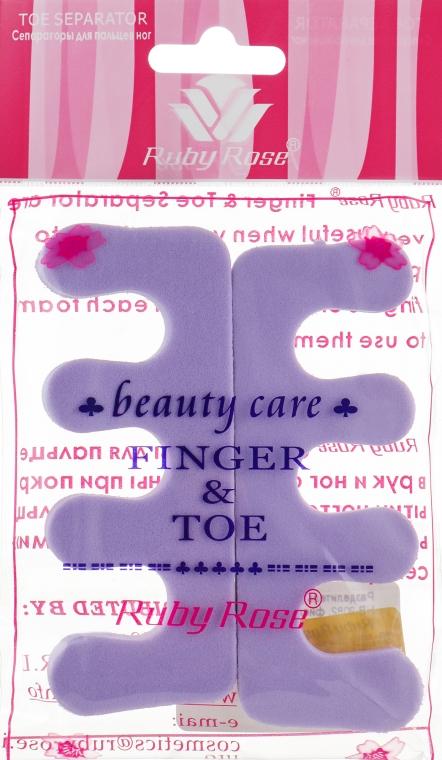Разделитель для пальцев, НВ-9082, фиолетовый - Ruby Rose
