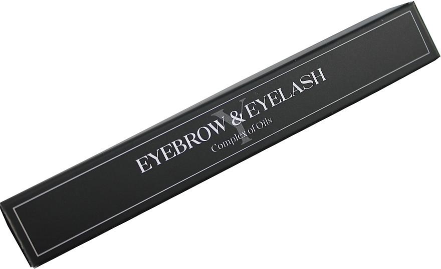 Масло для ресниц и бровей - Yarmak Eyebrow & Eyelash Complex Of Oils