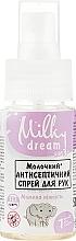 """Духи, Парфюмерия, косметика Антисептический спрей для рук """"Мамина нежность"""" - Milky Dream"""
