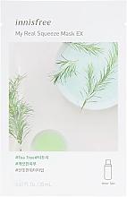 Духи, Парфюмерия, косметика Тканевая маска с маслом чайного дерева - Innisfree It`s Real Squeeze Mask Tea Tree
