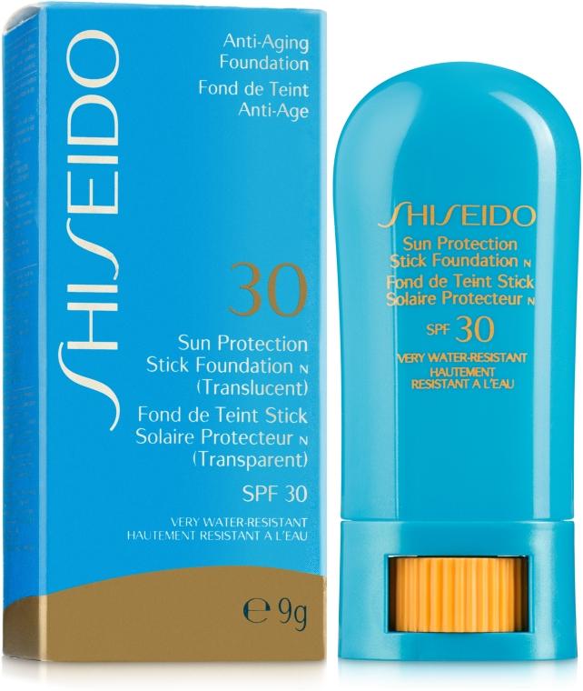 Солнцезащитное тональное средство-стик SPF30 - Shiseido UV Protective Stick Foundation SPF30