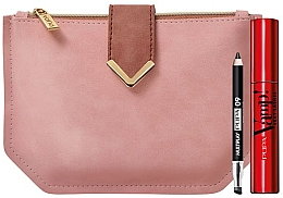 Духи, Парфюмерия, косметика Набор - Pupa Vamp Sexy Lashes & Multiplay Kit 2020 (mascara/12ml + pencil/0.8g + bag)