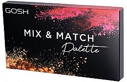 Парфумерія, косметика Палетка для контуринга - Gosh Mix & Match Palette