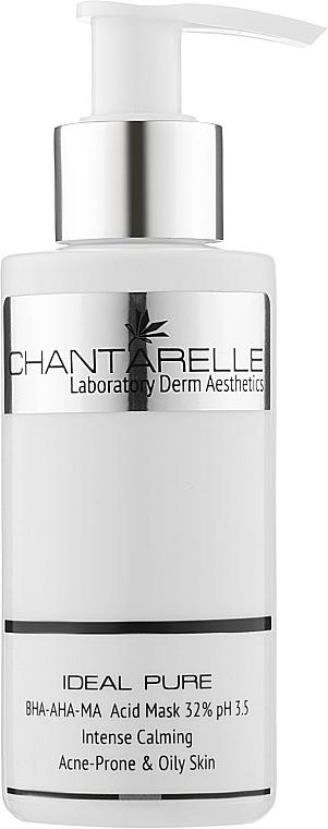Маска с салициловой, молочной и миндальной кислотами - Chantarelle Peel BHA-AHA-MA Acid Mask
