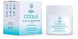 Духи, Парфюмерия, косметика Солнцезащитный крем для лица - Coola Full Spectrum 360 Mineral Sun Silk Moisturizer SPF 30