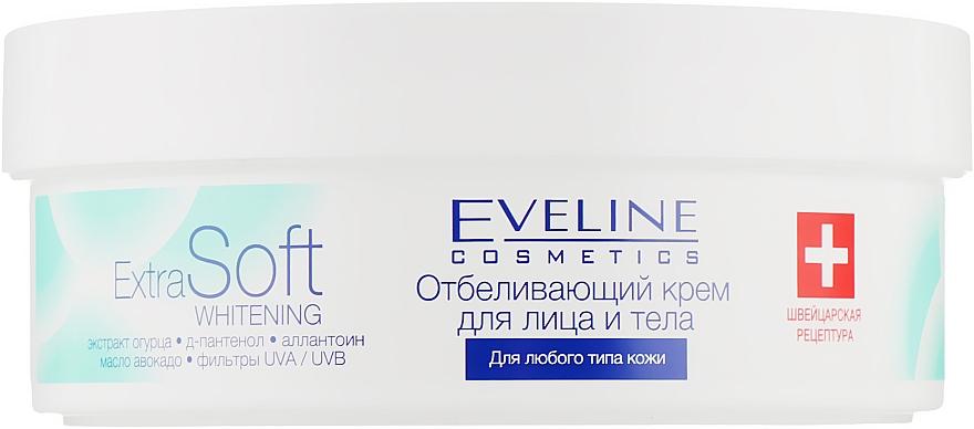 Отбеливающий крем для лица и тела - Eveline Cosmetics Extra Soft Whitening