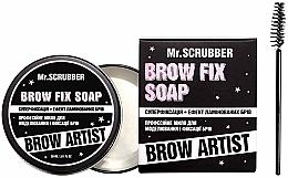 Духи, Парфюмерия, косметика Мыло для моделирования и фиксации бровей - Mr.Scrubber Brow Artist Brow Fix Soap