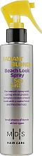 Парфумерія, косметика Спрей для волосся «Морська сіль. Сяючий блонд» - Mades Cosmetics Radiant Blonde Beach Look Sea Salt Spray