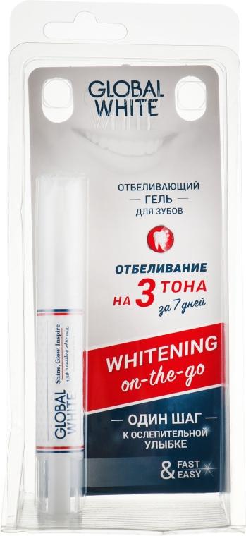 Отбеливающий карандаш классический Whitening 6% в блистере - Global White