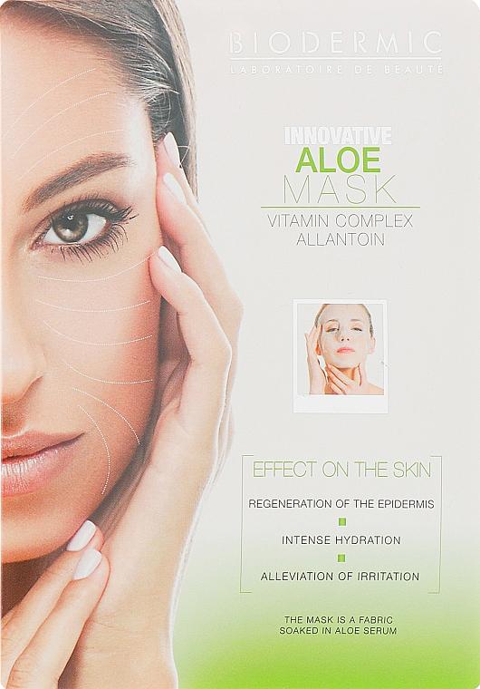 Маска для лица и шеи с алоэ - Biodermic Innovative Aloe Mask