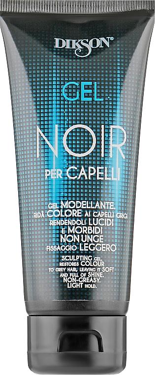 Тонирующий гель для седых волос - Dikson Gel Noir Per Capelli