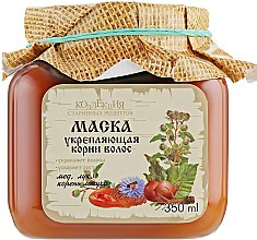 Духи, Парфюмерия, косметика Маска укрепляющая корни волос мед, лук, корень лопуха - Bioton Cosmetics