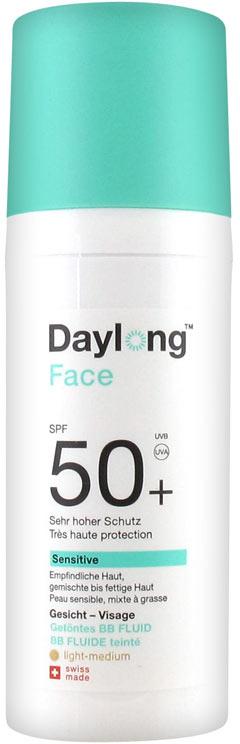 Солнцезащитный BB-флюид - Daylong Face Sensitive SPF 50+ BB Tinted Fluid