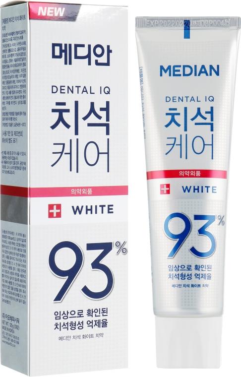 Отбеливающая зубная паста со вкусом мяты - Median Toothpaste White