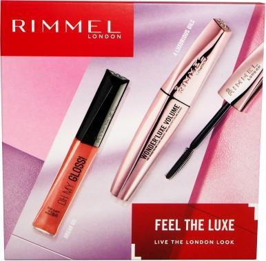 Набор - Rimmel Feel The Luxe (mascara/11ml + gloss/6/5ml)
