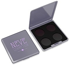 Духи, Парфюмерия, косметика Палетка магнитная - Neve Cosmetics Grey Glam