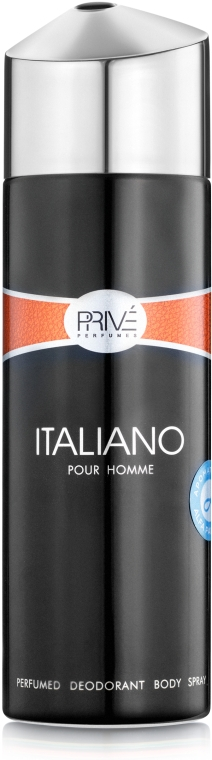 Prive Parfums Italiano For Men - Парфюмированный дезодорант мужской