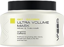 Духи, Парфюмерия, косметика Маска для уплотнения и объема волос - Vasso Professional Ultra Volume Hair Mask