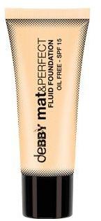 Тональная основа - Debby Mat & Perfect Fluid Foundation SPF 15
