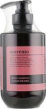 Духи, Парфюмерия, косметика Очищающий шампунь - Moremo Scalp Shampoo Clear And Cool